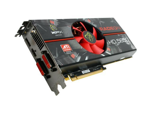 XFX Radeon HD 5850 DirectX 11 HD-585X-ZAFC 1GB 256-Bit GDDR5 PCI Express 2.1 x16 HDCP Ready CrossFireX Support Video Card w/ Eyefinity
