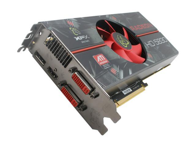 XFX Radeon HD 5830 DirectX 11 HD-583X-ZAFC Video Card with Eyefinity