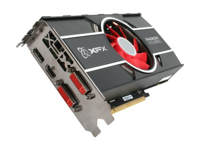 XFX Radeon HD 6850 DirectX 11 HD-685X-ZNFC Video Card with Eyefinity