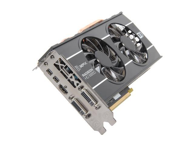 XFX Double D Radeon HD 6850 DirectX 11 HD-685X-ZDFC Video Card with Eyefinity