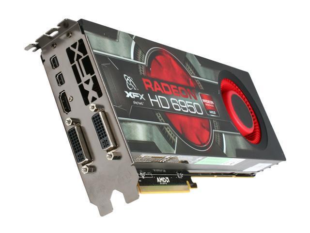 XFX Radeon HD 6950 DirectX 11 HD-695A-CNFC 2GB 256-Bit GDDR5 PCI Express 2.1 x16 HDCP Ready ...