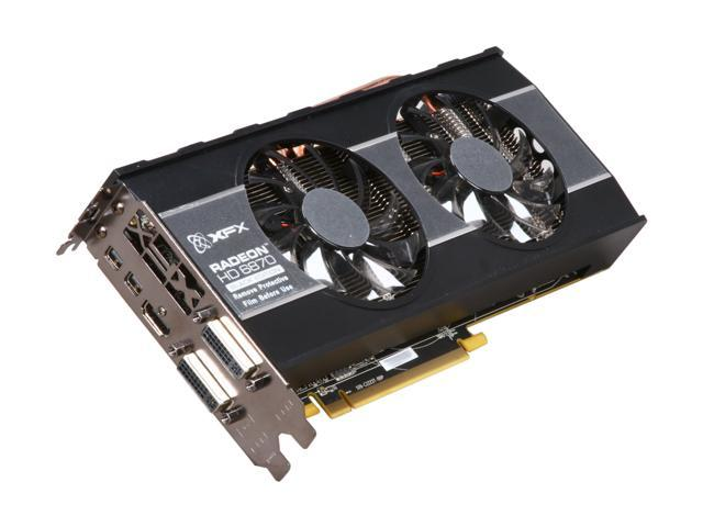 XFX Black Edition Radeon HD 6870 DirectX 11 HD-687A-ZDBC 1GB 256-Bit GDDR5 PCI Express 2.1 x16 HDCP Ready CrossFireX Support Video Card with Eyefinity