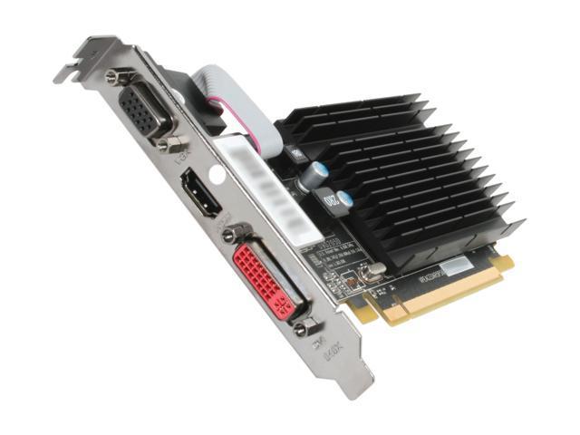 XFX Radeon HD 4350 DirectX 10.1 HD-435X-ZNH2 1GB 64-Bit DDR2 PCI Express 2.0 x16 Low Profile Video Card