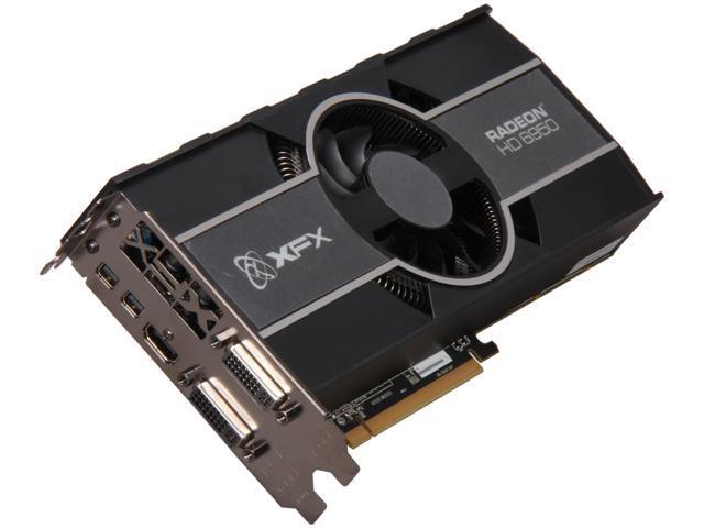 XFX Radeon HD 6950 DirectX 11 HD-695X-CNFC Video Card with Eyefinity