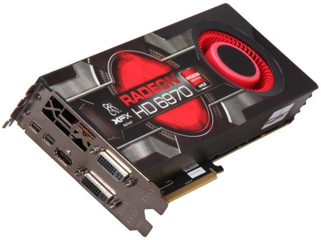 XFX Radeon HD 6970 DirectX 11 HD-697A-CNDC 2GB 256-Bit GDDR5 PCI Express 2.1 x16 HDCP Ready CrossFireX Support Video Card with Eyefinity