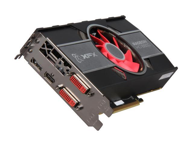 XFX Radeon HD 6850 DirectX 11 HD-685X-ZNFR Video Card with Eyefinity