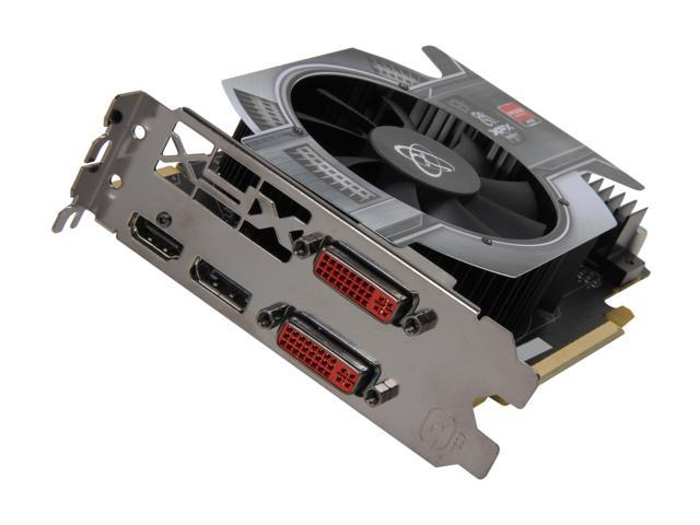 XFX Radeon HD 6770 DirectX 11 HD-677X-ZNFC Video Card