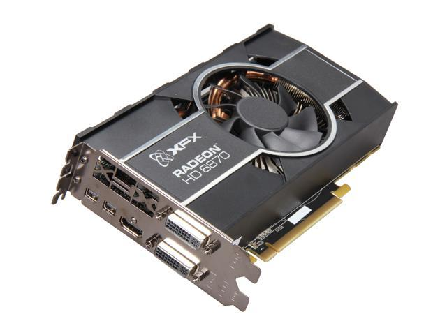 XFX Radeon HD 6870 DirectX 11 HD-687A-ZHFC Video Card