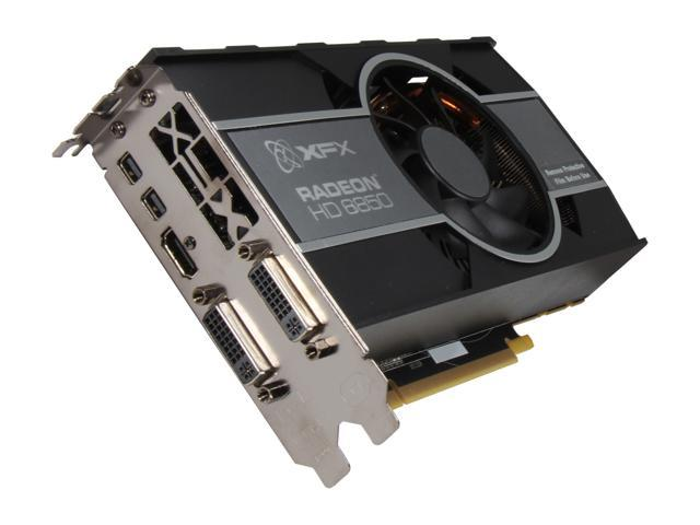 XFX Radeon HD 6850 DirectX 11 HD-685X-ZCFC Video Card