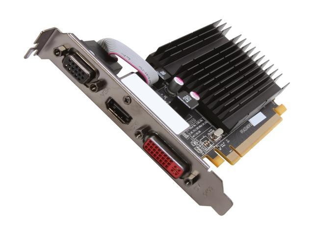 XFX Radeon HD 4550 DirectX 10.1 HD-455X-ZAFR 1GB 64-Bit DDR2 PCI Express 2.0 x16 HDCP Ready Video Card