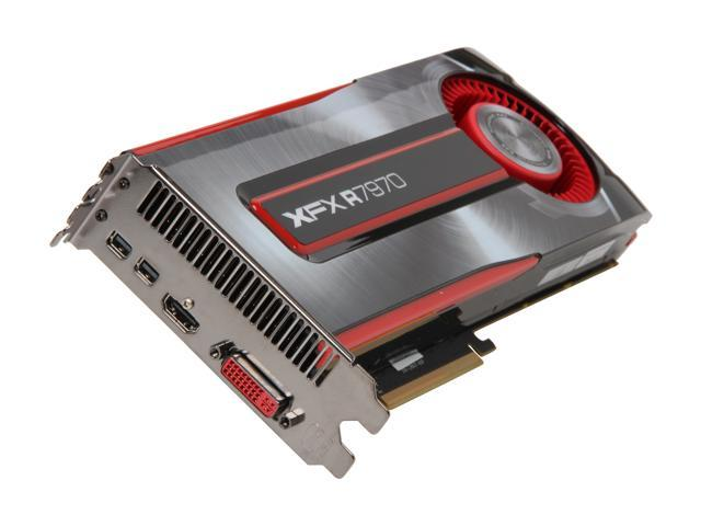 XFX FX-797A-TNBC Radeon HD 7970 Black Edition 3GB 384-bit GDDR5 PCI Express 3.0 x16 HDCP Ready CrossFireX Support Video Card