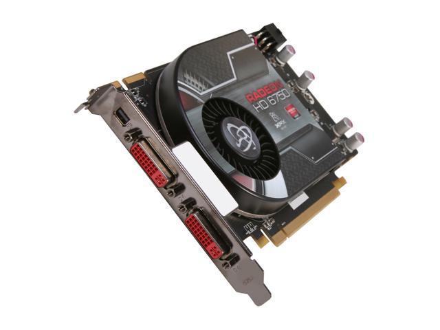 XFX Radeon HD 6750 DirectX 11 HD-675X-ZDFC 1GB 128-Bit GDDR5 PCI Express 2.1 x16 HDCP Ready Video Card