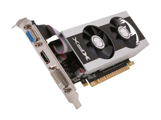 XFX Double D GeForce GT 630 DirectX 11 GT630NCDF2 2GB 128-Bit DDR3 PCI Express 2.0 x16 HDCP Ready Video Card