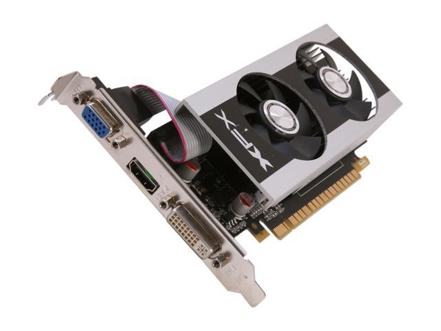 XFX Double D GeForce GT 630 DirectX 11 GT630NZDF2 1GB 128-Bit DDR3 PCI Express 2.0 x16 HDCP Ready Video Card