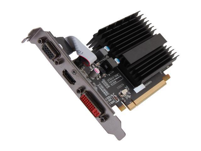 XFX Radeon HD 5450 DirectX 11 ON XFX1 STDR 512MB DDR3 PCI Express 2.1 x16 Video Card