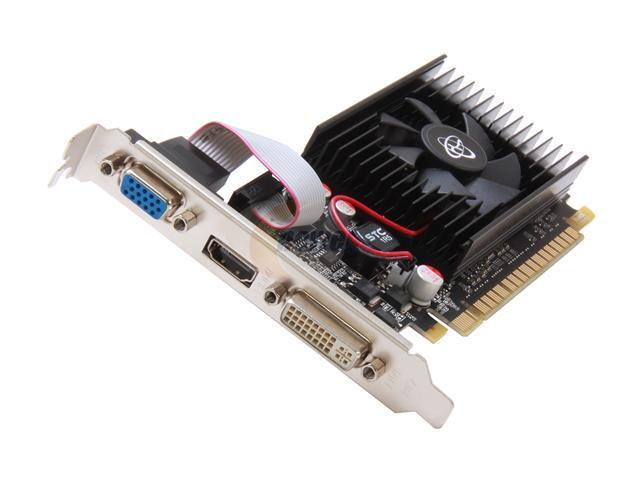 XFX GeForce GT 610 DirectX 11 GT-610N-CNF2 2GB 64-Bit DDR3 PCI Express 2.0 x16 HDCP Ready Video Card