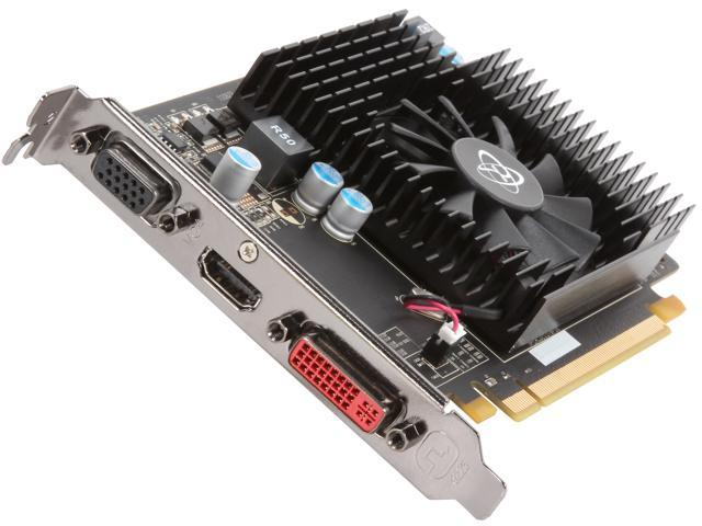 XFX Radeon HD 6570 DirectX 11 HD-657X-ZDFR 1GB 128-Bit GDDR3 PCI Express 2.1 x16 HDCP Ready Video Card