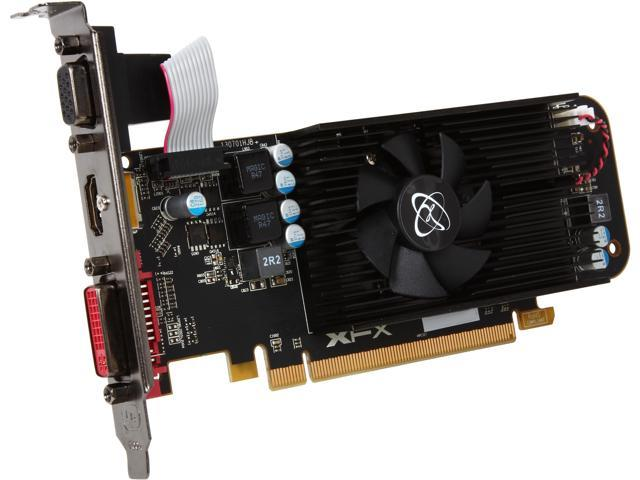 XFX Core Edition Radeon R7 250 DirectX 11.2 R7-250A-CLF4 2GB 128-Bit DDR3 PCI Express 3.0 CrossFireX Support Low Profile Ready Video Card
