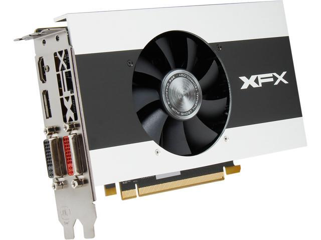 XFX Radeon R7 250X DirectX 11.2 R7-250X-CGF4 2GB 128-Bit DDR3 PCI Express 3.0 x16 Core Edition Video Card