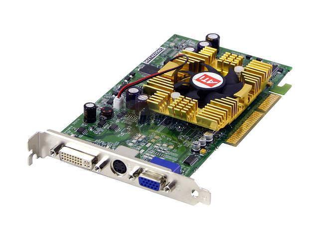 JetWay Radeon 9600XT DirectX 9 96XT-AD-256C Video Card