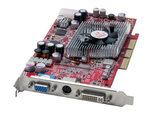 JetWay Radeon 9800XT DirectX 9 98XT-AD-256D Video Card