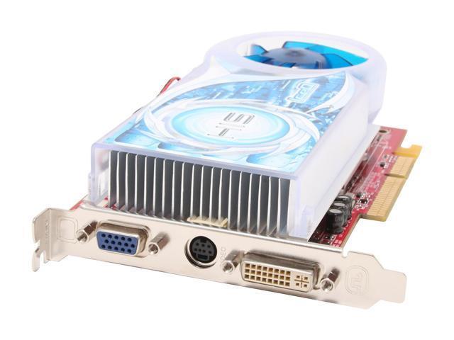 HIS Radeon X1600PRO DirectX 9 H160PRQ256AN 256MB 128-Bit GDDR2 AGP 4X/8X IceQ CrossFire Support Video Card
