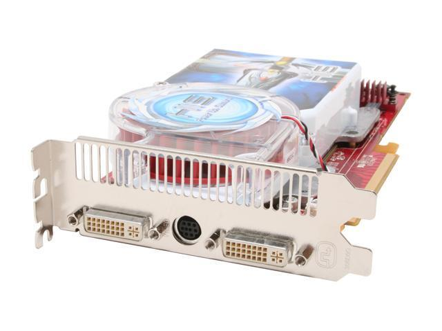 HIS Radeon X1900XT DirectX 9 H190XT256DVN-R 256MB 256-Bit GDDR3 PCI Express x16 CrossFire Video Card