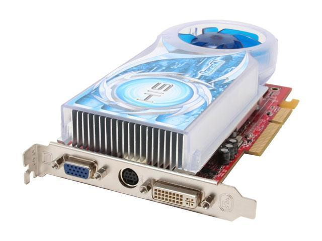 HIS Radeon X1650PRO DirectX 9 H165PRQ256AN-R 256MB 128-Bit GDDR2 AGP 4X/8X Video Card