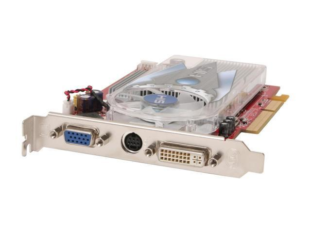 HIS Radeon X1650PRO DirectX 9 H165PRF256AN-R 256MB 128-Bit GDDR2 AGP 4X/8X Video Card