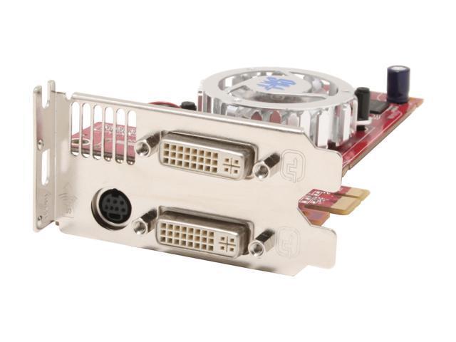 HIS Radeon X1550 DirectX 9 H155HMF256EDDE1LN-R 512MB(256MB on board) 64-Bit GDDR2 PCI Express x1 Low Profile Video Card