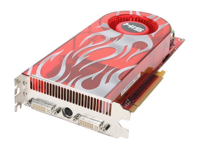 HIS Radeon HD 2900XT DirectX 10 H290XT512DVN-R 512MB 512-Bit GDDR3 PCI Express x16 HDCP Ready CrossFireX Support Video Card