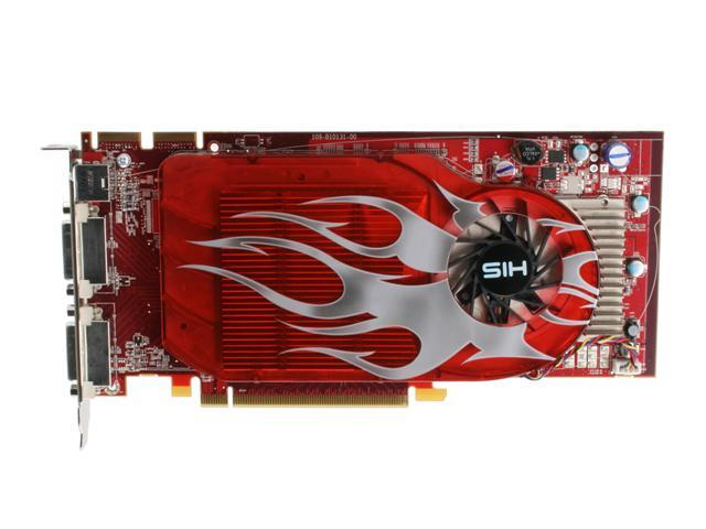 HIS Radeon HD 2600XT DirectX 10 H260XT256G4DDN-R 256MB 128-Bit GDDR4 PCI Express x16 HDCP Ready CrossFireX Support Video Card