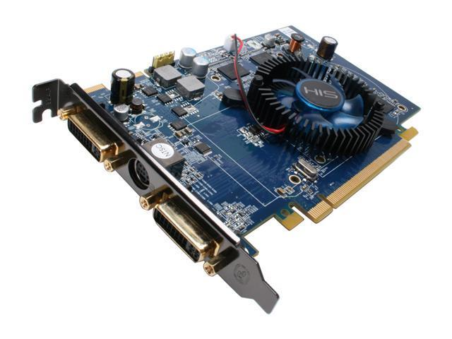 HIS Radeon HD 2600XT DirectX 10 H260XTF512DDN-R Video Card