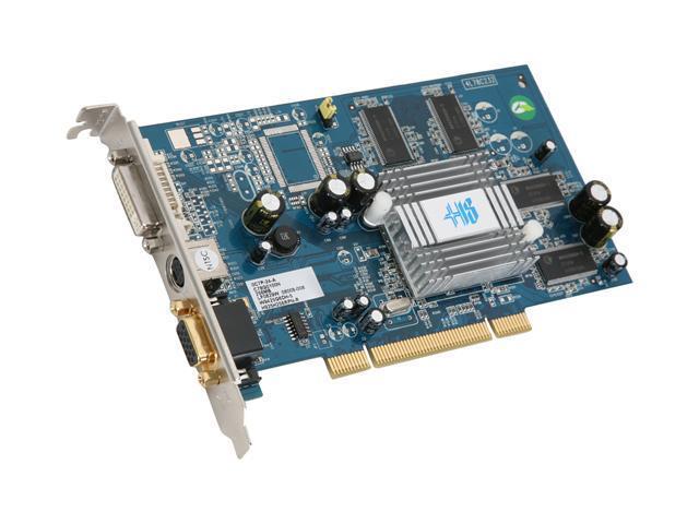 HIS Radeon 9250 DirectX 8 H925H256RPN-R Video Card