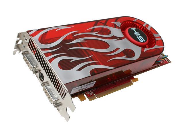 HIS Radeon HD 2900GT DirectX 10 H290GT256DDN-R Video Card