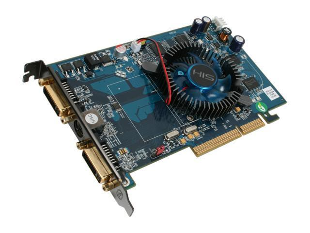 HIS Radeon HD 2600PRO DirectX 10 H26PF512ANP Video Card