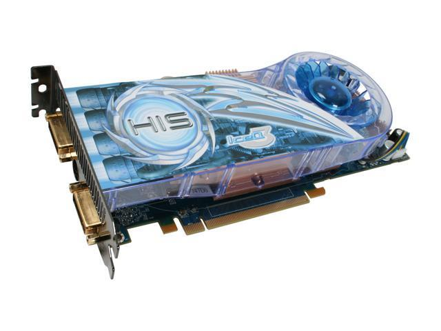 HIS Radeon HD 3850 DirectX 10.1 H385QX512NP 512MB 256-Bit GDDR3 PCI Express 2.0 x16 HDCP Ready CrossFireX Support IceQ3 TurboX Video Card