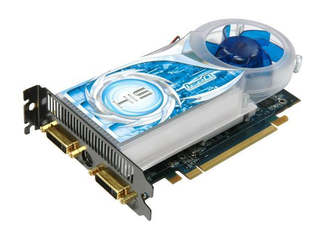 HIS Radeon HD 3650 DirectX 10.1 H365Q512GNP IceQ Turbo Video Card