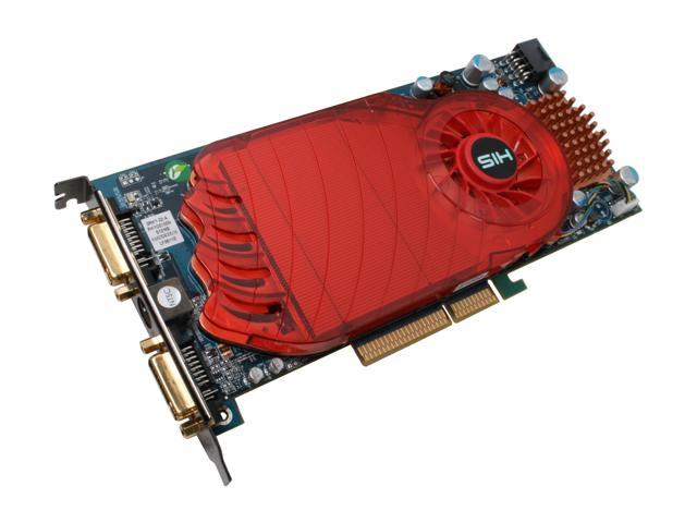 HIS Radeon HD 3850 DirectX 10.1 H385F512ANP 512MB 256-Bit GDDR3 AGP 4X/8X HDCP Ready Video Card