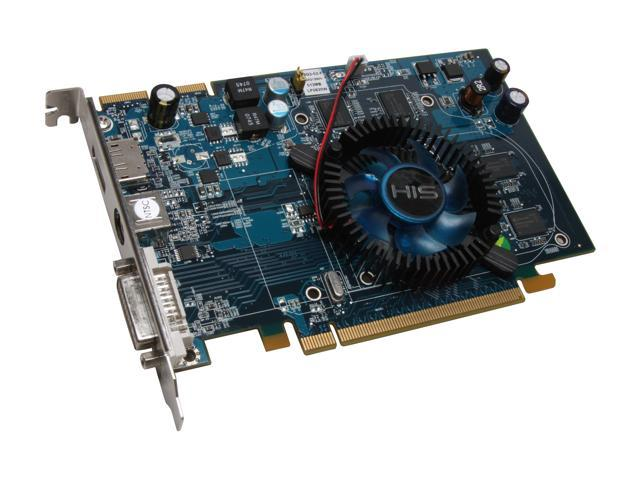 HIS Radeon HD 3650 DirectX 10.1 H365F512DPNP 512MB 128-Bit GDDR2 PCI Express 2.0 x16 HDCP Ready CrossFireX Support Video Card