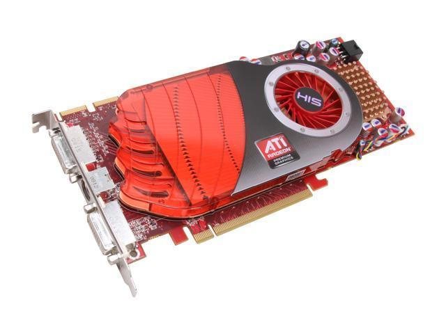 HIS Radeon HD 4850 DirectX 10.1 H485F512P 512MB 256-Bit GDDR3 PCI Express 2.0 x16 HDCP Ready CrossFireX Support Video Card