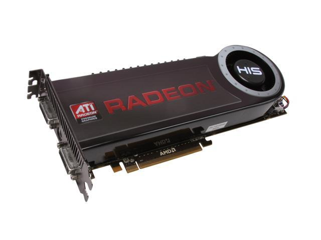 HIS Radeon HD 4870 X2 DirectX 10.1 H487X2F2GP 2GB 512-bit (256-bit x 2) GDDR5 PCI Express 2.0 x16 HDCP Ready CrossFireX Support Video Card