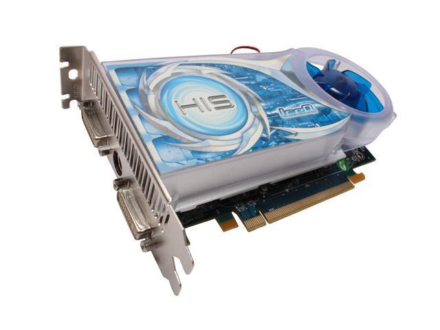 HIS Radeon HD 4670 DirectX 10.1 H467QS512P 512MB 128-Bit GDDR3 PCI Express 2.0 x16 HDCP Ready CrossFireX Support Video Card