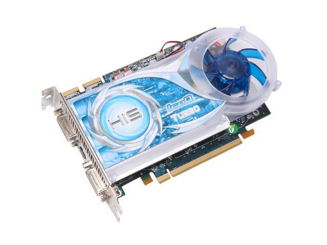 HIS Hightech H467QT512P Radeon HD 4670 IceQ Turbo 512MB 128-bit GDDR3 PCI Express 2.0 x16 HDCP Ready CrossFire Supported Video Card