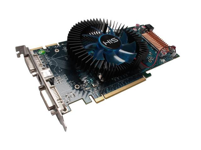 HIS HD 4000 Radeon HD 4850 DirectX 10.1 H485FN512P 512MB 256-Bit GDDR3 PCI Express 2.0 x16 HDCP Ready CrossFireX Support Video Card