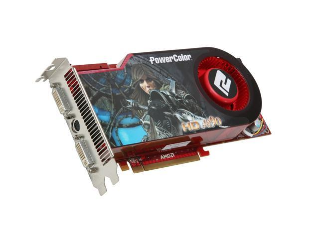 PowerColor Radeon HD 4890 DirectX 10.1 AX4890 1GBD5-HM 1GB 256-Bit GDDR5 PCI Express 2.0 x16 HDCP Ready CrossFireX Support Video Card