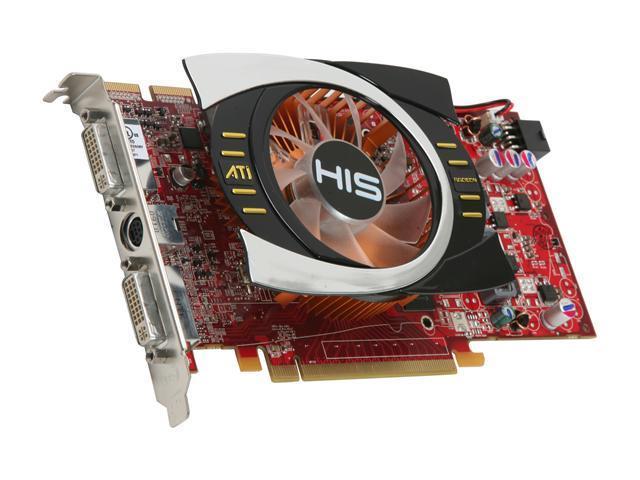 HIS Radeon HD 4770 DirectX 10.1 H477F512P 512MB 128-Bit GDDR5 PCI Express 2.0 x16 HDCP Ready CrossFireX Support Video Card