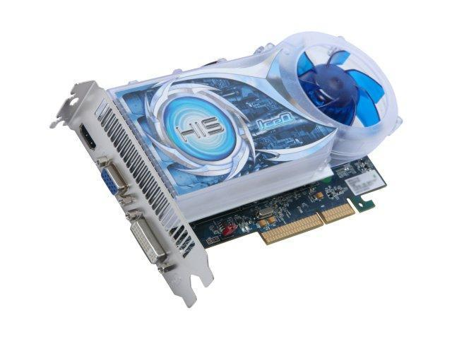 HIS Radeon HD 4670 DirectX 10.1 H467Q1GHDAP Video Card