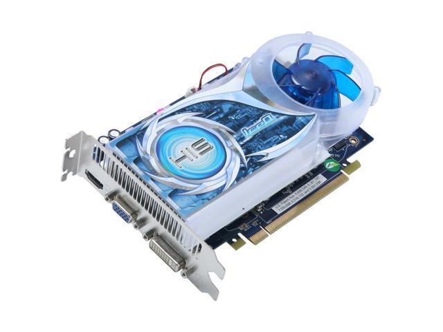 HIS HD 4000 Radeon HD 4670 DirectX 10.1 H467QS1GH 1GB 128-Bit DDR3 PCI Express 2.0 x16 HDCP Ready CrossFireX Support Video Card