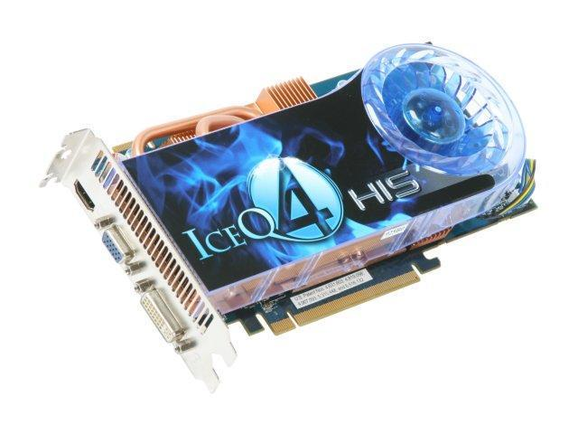 HIS Radeon HD 4850 DirectX 10.1 H485Q512H 512MB 256-Bit GDDR3 PCI Express 2.0 x16 HDCP Ready CrossFireX Support Video Card